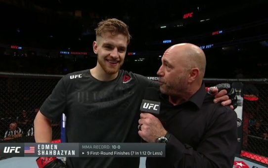UFC 239: Edmen Shahbazyan Octagon Interview