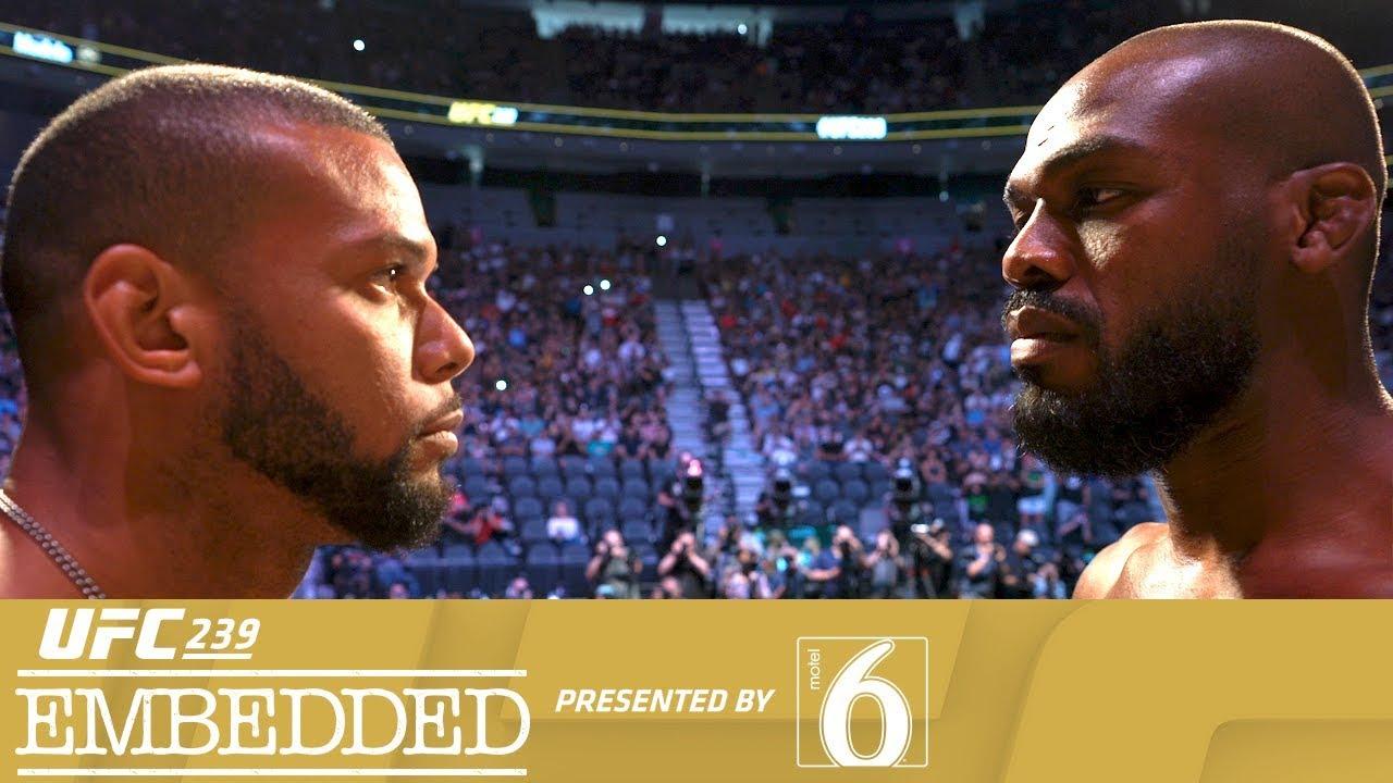 UFC 239 Embedded: Vlog Series - Episode 6