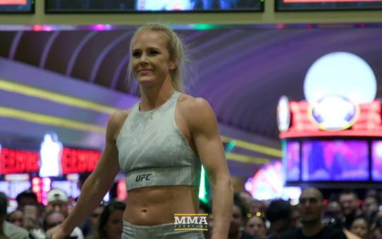 UFC 239: Holly Holm Open Workout Highlights – MMA Fighting