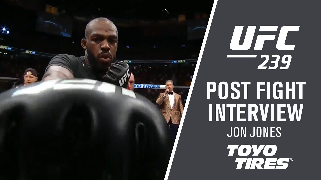 "UFC 239: Jon Jones - ""We'll Be Back In December"""