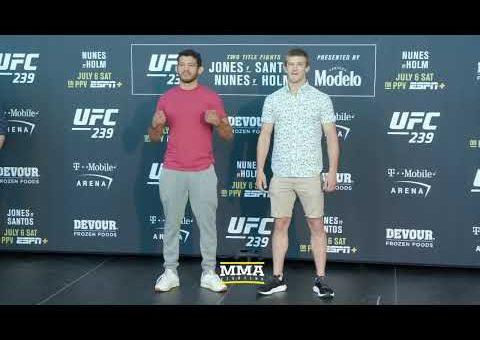 UFC 239 Media Day Staredowns