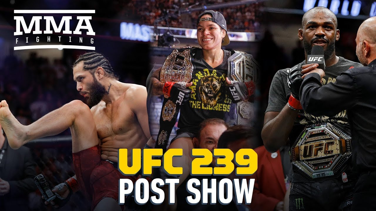 UFC 239 Post-Fight Show - MMA Fighting