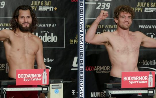 UFC 239 Weigh-Ins: Jorge Masvidal, Ben Askren Make Weight – MMA Fighting