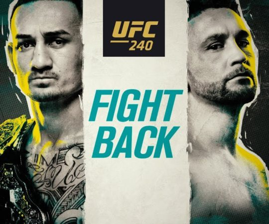 UFC 240: Fight Back – Promo