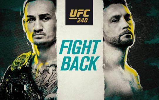 UFC 240: Fight Back – Promo