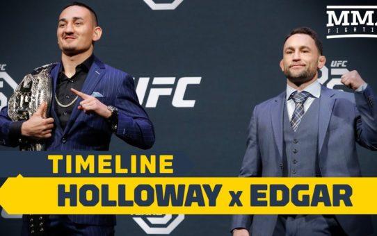UFC 240 Timeline: Max Holloway vs. Frankie Edgar – MMA Fighting