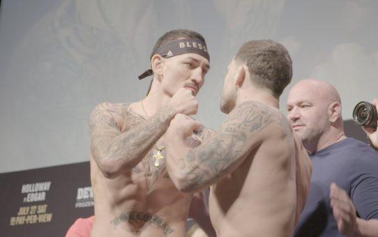UFC 240: Weigh-in Recap