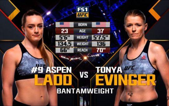 UFC Sacramento Free Fight: Aspen Ladd vs Tonya Evinger