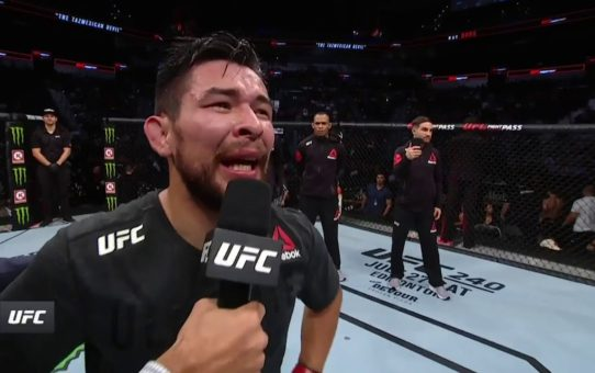UFC San Antonio: Ray Borg Octagon Interview