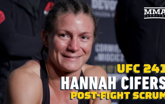 "UFC 241: Hannah Cifers Recalls ""Cool"" First Meeting With Dana White – MMA Fighting"