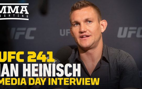 UFC 241: Ian Heinisch Reflects On Journey To UFC: 'I'm Meant To Be Dead In Prison'