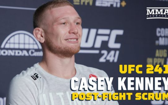 UFC 241: Casey Kenney Says Manny Bermudez Was '20 Pounds' Heavier In The Octagon – MMA Fighting
