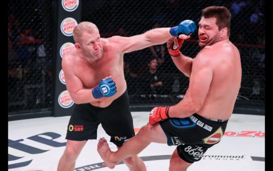 Bellator 225 Highlights: Sergei Kharitonov Knocks Out Matt Mitrione – MMA Fighting