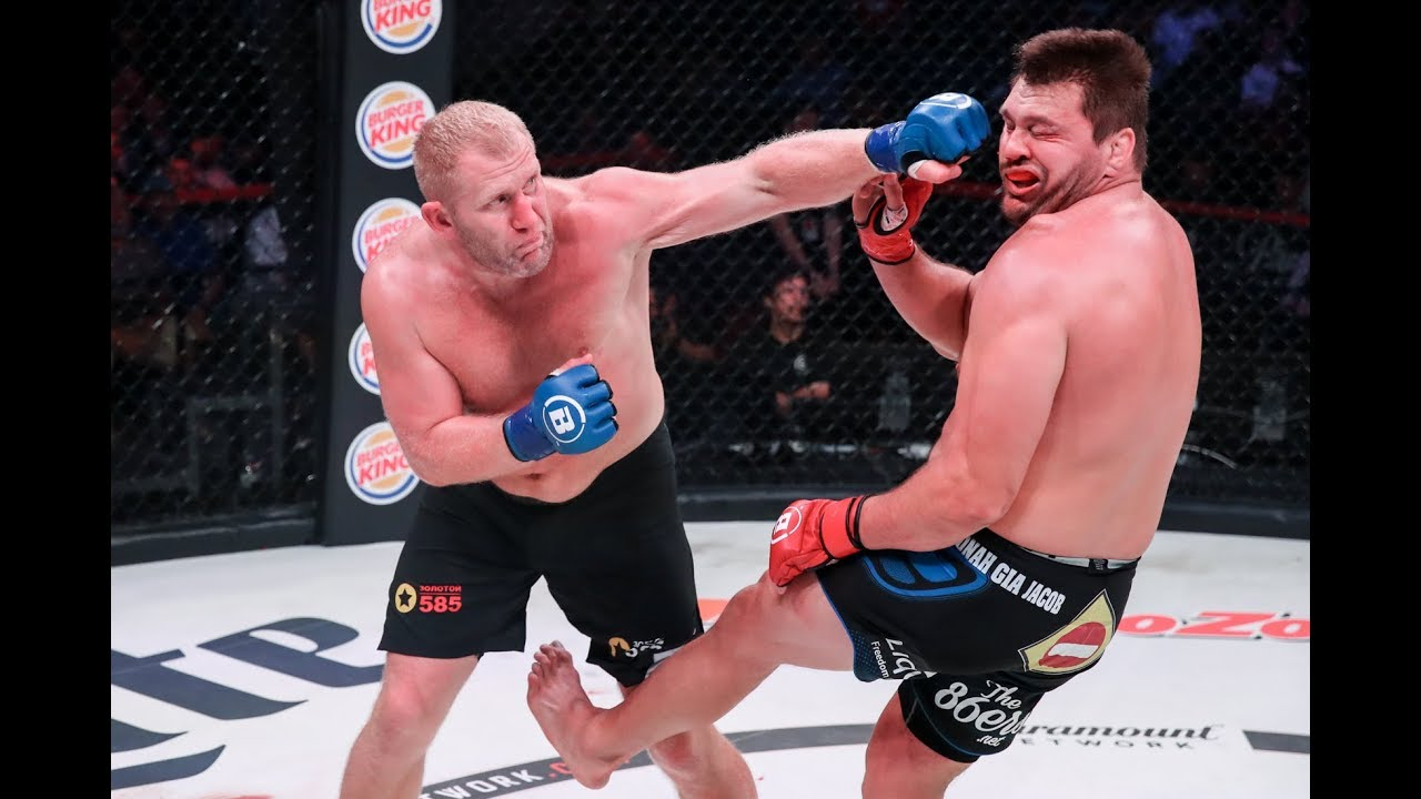 Bellator 225 Highlights: Sergei Kharitonov Knocks Out Matt Mitrione - MMA Fighting