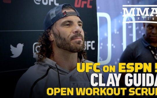 UFC on ESPN 5: Clay Guida: 'Island Warrior' B.J. Penn Will Compete Until 'Limbs Fall Off'
