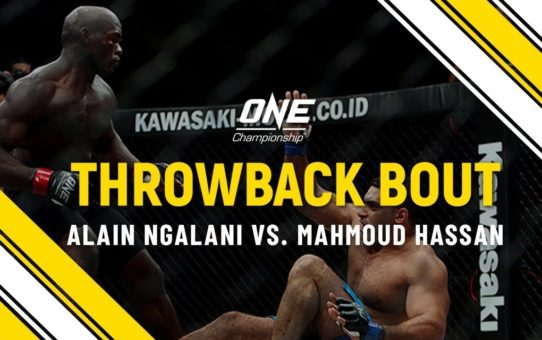Alain Ngalani vs. Mahmoud Hassan | ONE Full Fight | Throwback Bout