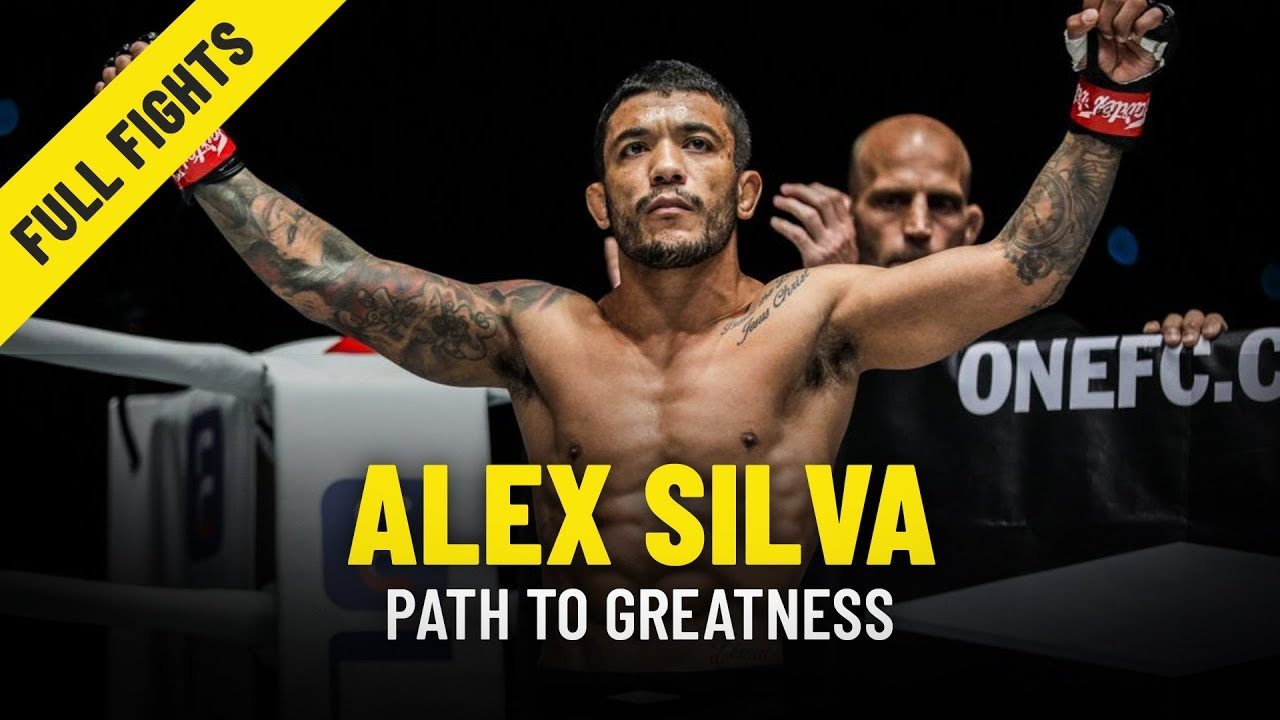 Alex Silva's Path To Greatness | ONE Features & Full Fights