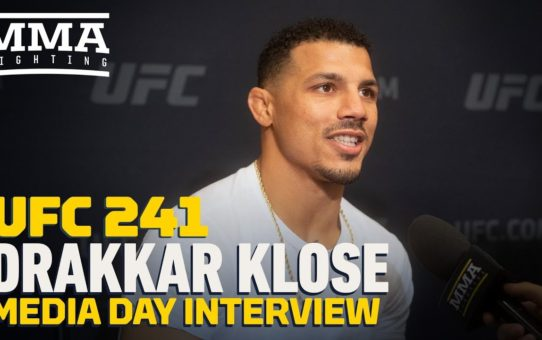 UFC 241: Drakkar Klose Wants To 'Make Enough Money' So His Son Won't Fight – MMA Fighting