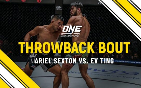 Ariel Sexton vs. Ev Ting | ONE Full Fight | Throwback Bout