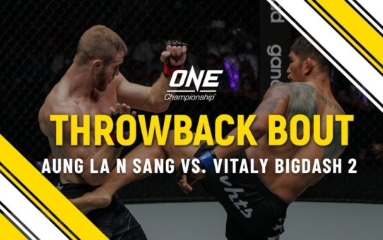 Aung La N Sang vs. Vitaly Bigdash 2 | ONE Full Fight | Throwback Bout
