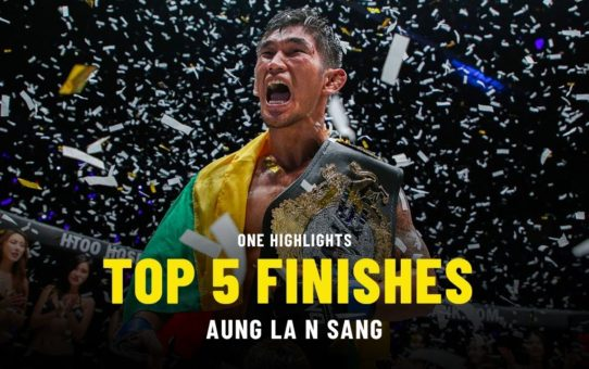Aung La N Sang's Top 5 Finishes | ONE Highlights