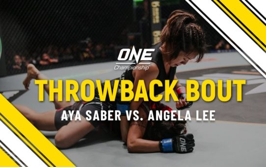 Aya Saber vs. Angela Lee | ONE Full Fight | Throwback Bout