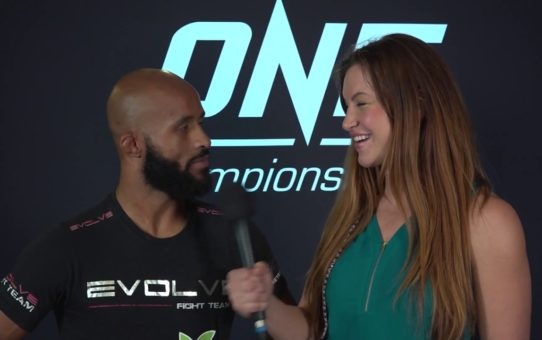 Backstage With Demetrious Johnson & Miesha Tate | ONE Interview