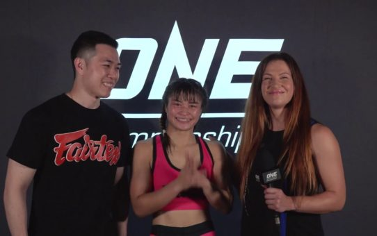 Backstage With Stamp Fairtex & Miesha Tate | ONE: DREAMS OF GOLD Interview