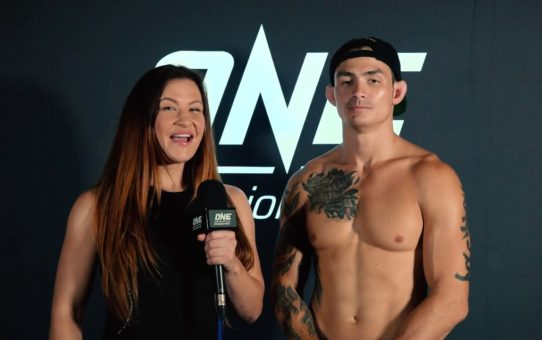 Backstage With Thanh Le & Miesha Tate   ONE: DREAMS OF GOLD Interview