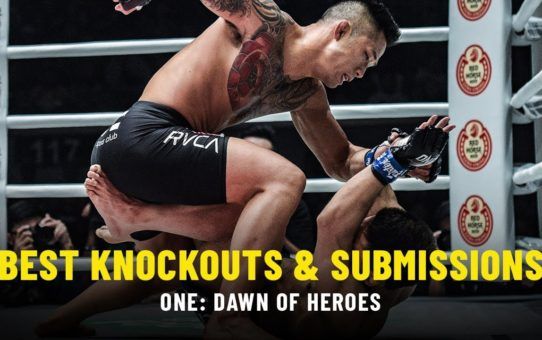 Best Knockouts & Submissions | ONE: DAWN OF HEROES