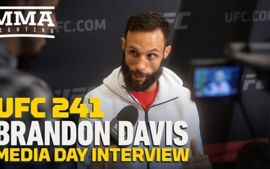 UFC 241: Brandon Davis Would Happily Accept a Fight Against Frankie Edgar