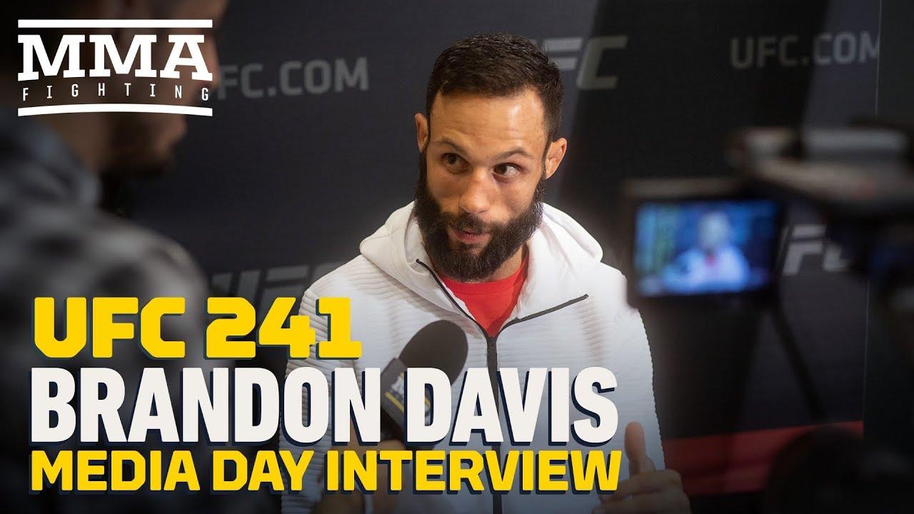 UFC 241: Brandon Davis Would Happily Accept a Fight Against Frankie Edgar