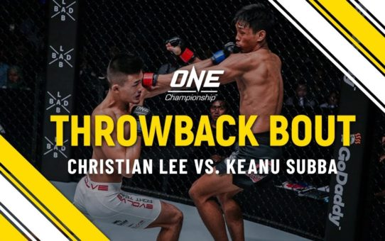 Christian Lee vs. Keanu Subba | ONE Full Fight | Throwback Bout