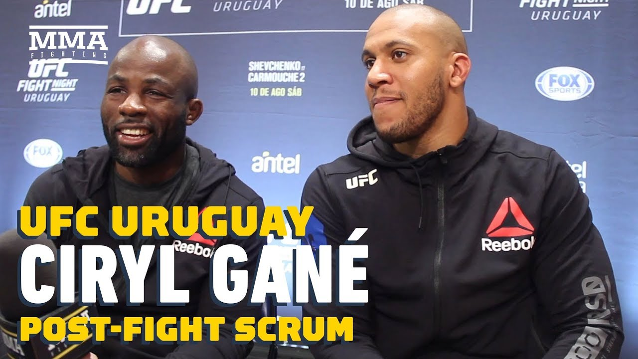 Ciryl Gane: Greg Hardy 'Could Be A Good Challenge For Me' - MMA Fighting