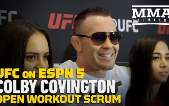 Colby Covington: Robbie Lawler Puts on 'Front for the Media' – MMA Fighting