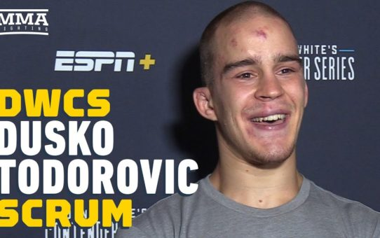 Dusko Todorovic Earned DWCS UFC Contract Without Head Coach, Manager, Due To Visa Issues