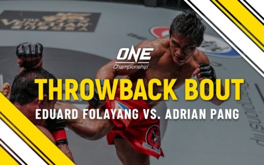 Eduard Folayang vs. Adrian Pang | ONE Full Fight | Throwback Bout