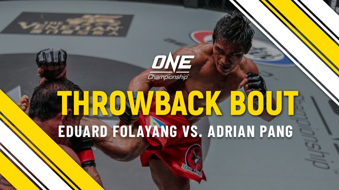 Eduard Folayang vs. Adrian Pang   ONE Full Fight   Throwback Bout