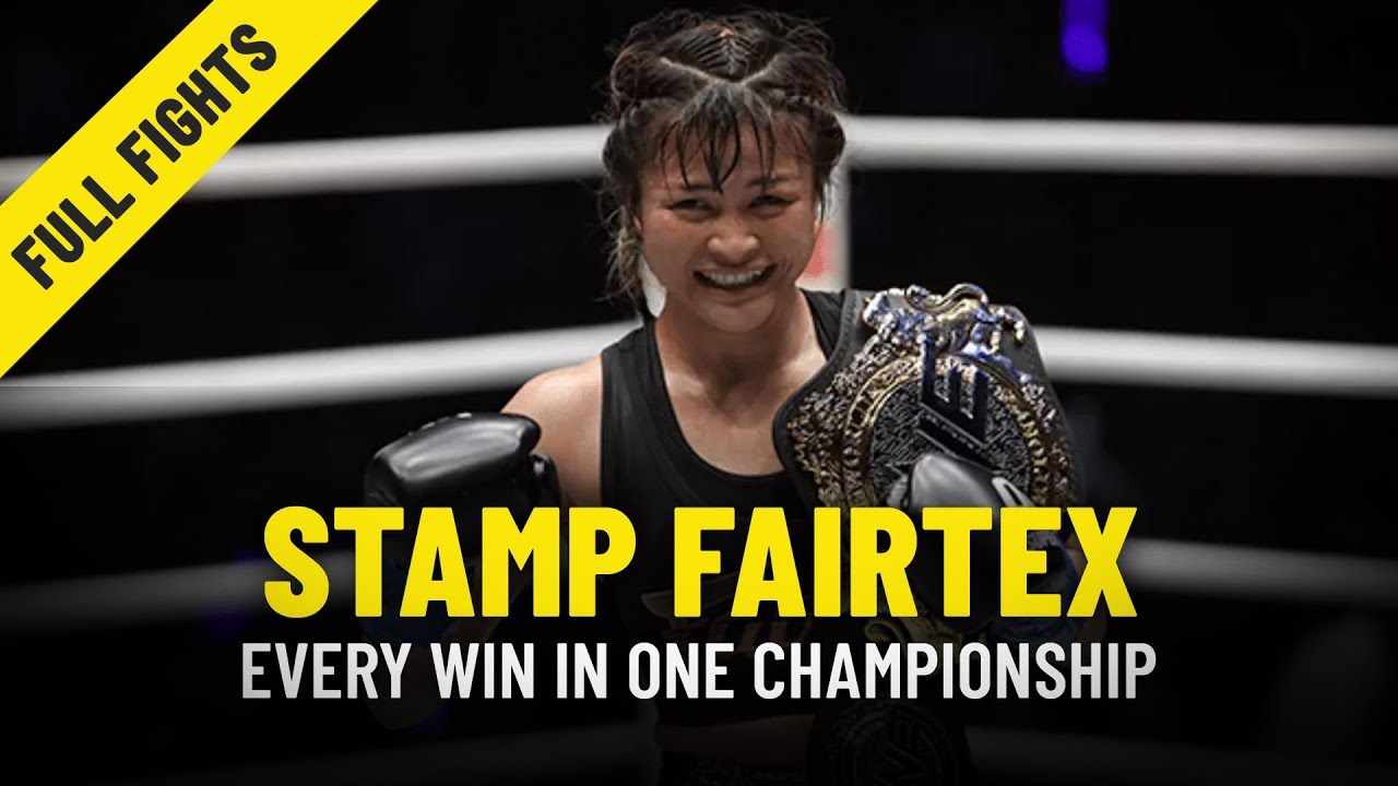 Every Stamp Fairtex Win | ONE Full Fights