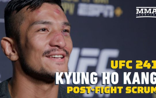 UFC 241: Kyung Ho Kang Wants To Fight In South Korea Next, Targets Urijah Faber  – MMA Fighting