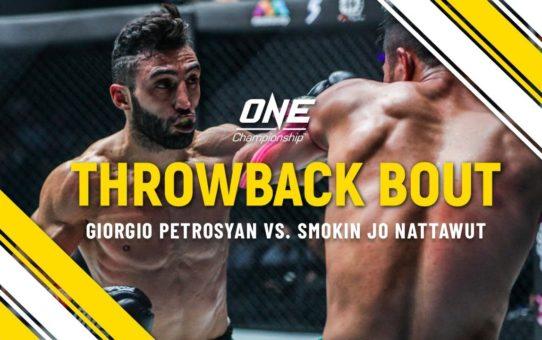 Giorgio Petrosyan vs. Jo Nattawut | ONE Full Fight | Throwback Bout