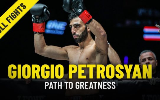 Giorgio Petrosyan's Path To Greatness | ONE Features & Full Fights