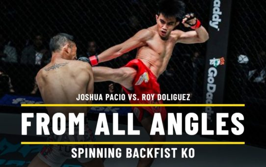 Joshua Pacio vs. Roy Doliguez | ONE From All Angles