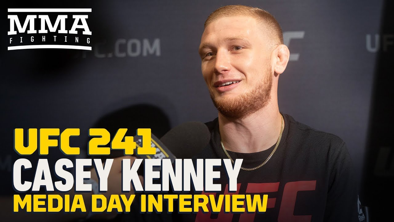 UFC 241: Casey Kenney Hopes Manny Bermudez Misses Weight: 'That's Just More Money For Me'