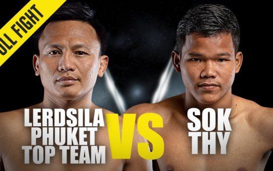 Lerdsila vs. Sok Thy | ONE Full Fight | Muay Thai Mastery | November 2018