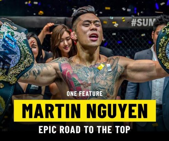 Martin Nguyen's Epic Road To The Top | ONE Feature
