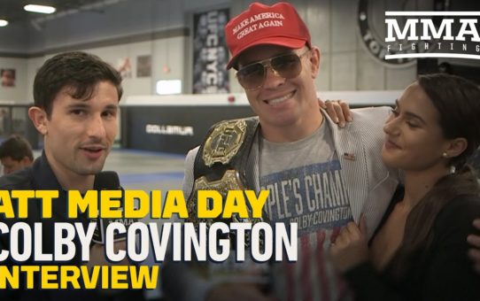 Colby Covington Talks 'Amazing' UFC 241 Fan Reaction, Sends Message to Kamaru Usman – MMA Fighting