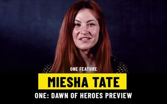 Miesha Tate Previews ONE: DAWN OF HEROES | ONE Feature
