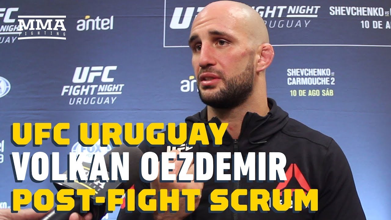UFC Uruguay: Volkan Oezdemir Discusses Bar Fight That Led To Severely Injured Hand - MMA Fighting