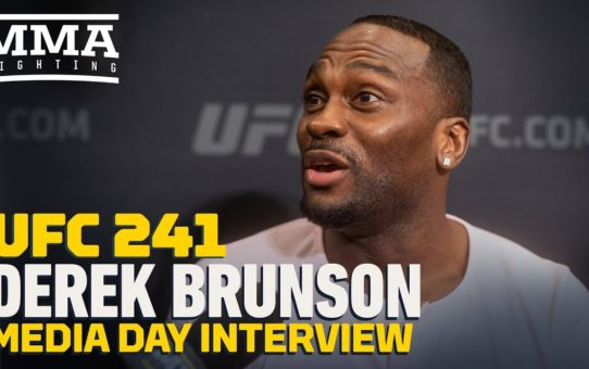 UFC 241: Derek Brunson Reflects On His 'Dumbest Decisions' Inside UFC Octagon – MMA Fighting